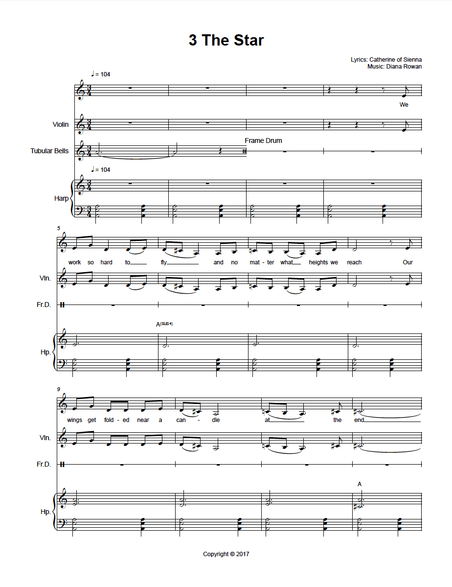 Music Transcription Services - we transcribe musical